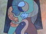 Blauwe dans-a021