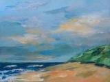 Strand en zee bij Groet