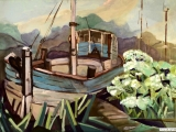 jachthaven en berenklauw
